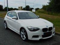 USED 2013 13 BMW 1 SERIES 2.0 116D M SPORT 3d 114 BHP DAB RADIO, BLUETOOTH, MSPORT