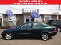 USED 2002 52 MERCEDES-BENZ C CLASS 2.6 C240 ELEGANCE 4DR AUTOMATIC 170 BHP ++++SUMMER SALE NOW ON+++
