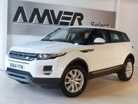 USED 2014 64 LAND ROVER RANGE ROVER EVOQUE 2.2 SD4 PURE 5d AUTO 190 BHP