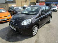 USED 2013 13 NISSAN MICRA 1.2 ACENTA 5d 79 BHP