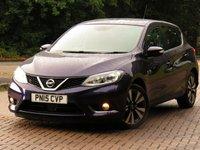2015 NISSAN PULSAR 1.2 N-TEC DIG-T XTRONIC 5d AUTO 115 BHP £9844.00