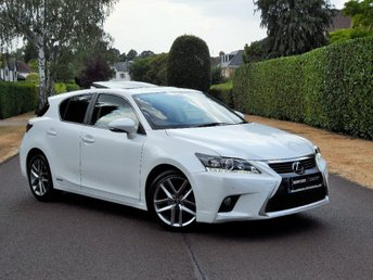 2015 LEXUS CT 1.8 Advance Plus CVT 5dr £16995.00