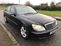 USED 2005 55 MERCEDES-BENZ S CLASS 3.2 S320 CDI L 4dr Automatic ! 2 Owners !