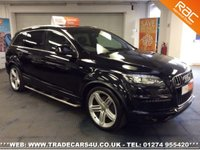 USED 2010 60 AUDI Q7  3.0 TDI 8 SPEED AUTO QUATTRO AWD S LINE UK DELIVERY* RAC APPROVED* FINANCE ARRANGED* PART EX