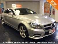 USED 2013 13 MERCEDES-BENZ CLS 350 CDI BLUE F 7G TRONIC PLUS AMG SPORT UK DELIVERY* RAC APPROVED* FINANCE ARRANGED* PART EX