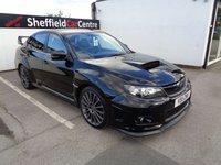 2011 SUBARU IMPREZA 2.5 WRX STI TYPE -UK AWD 4d 296 BHP  STRICTLY APPOINTMENT ONLY VIEWING £16975.00