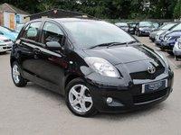 2010 TOYOTA YARIS 1.3 TR VVT-I 5d 99 BHP £3999.00