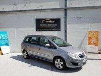 2010 VAUXHALL ZAFIRA 1.6 EXCLUSIV 5d 113 BHP £3165.00