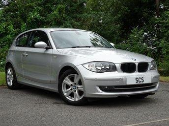 2008 BMW 1 SERIES 2.0 118D SE 3d  £3397.00