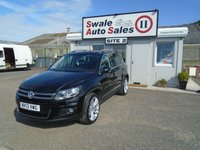 2013 VOLKSWAGEN TIGUAN 2.0 SE TDI BLUEMOTION TECHNOLOGY 4MOTION 5d 138 BHP £11995.00