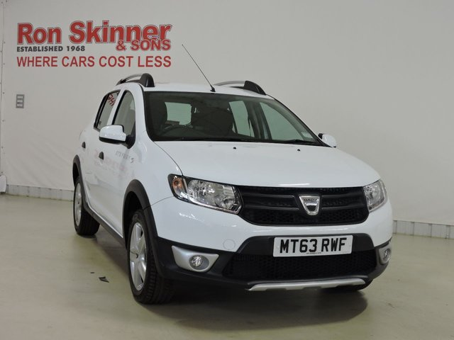 View our 2014 63 DACIA SANDERO 0.9 STEPWAY AMBIANCE TCE 5d 90 BHP
