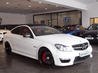 2012 MERCEDES-BENZ C CLASS 6.2 C63 AMG EDITION 125 2d AUTO 457 BHP PERFORMANCE PACK £24990.00