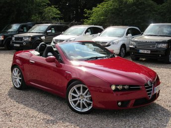 2008 ALFA ROMEO SPIDER 2.2 JTS LIMITED EDITION 2d 185 BHP £SOLD