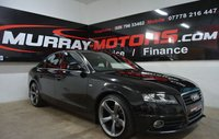 2008 AUDI A4 2.0 TDI SE 4DOOR 141 BHP *S LINE KITTED* £6995.00