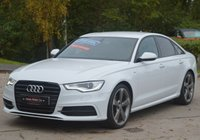 USED 2013 63 AUDI A6 2.0 TDI S LINE BLACK EDITION 4d 177 BHP 8.9 APR FINANCE DEAL ON THIS CAR