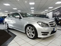 USED 2015 15 MERCEDES-BENZ C CLASS C250 CDI AMG SPORT EDITION AUTO 202 BHP 1 OWNER VAT QUALIFYING B/T DAB
