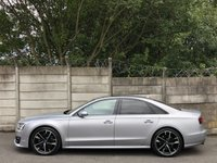 USED 2016 16 AUDI S8 4.0 PLUS TFSI V8 QUATTRO 4d AUTO 597 BHP 1 OWNER/LOW MILES/BIG SPEC/600BHP