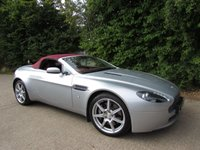 USED 2008 57 ASTON MARTIN VANTAGE 4.3 V8 ROADSTER 2d AUTO 380 BHP SPORTSHIFT Red Leather