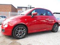 USED 2014 14 FIAT 500 1.2 S 3d 69 BHP 1 FORMER KEEPER 27,000 MILES £30 ROAD TAX