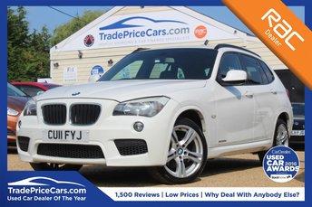 2011 BMW X1 2.0 XDRIVE20D M SPORT 5d AUTO 174 BHP £10500.00