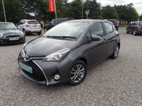 USED 2015 65 TOYOTA YARIS 1.33 Icon 5dr (TSS) 1 PREV OWNER, £30.00 ROAD TAX