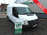 2013 FORD TRANSIT 2.2 SWB MED ROOF 100BHP FULL SERVICE HISTORY 6 MONTHS RAC WARRANTY  £4995.00