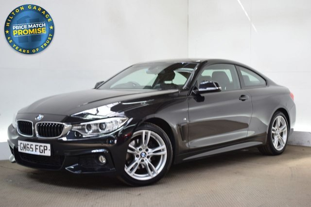 USED 2015 65 BMW 4 SERIES 2.0 420D M SPORT 2d 188 BHP COUPE