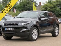2015 LAND ROVER RANGE ROVER EVOQUE 2.2 ED4 PURE TECH 3d 150 BHP £19990.00
