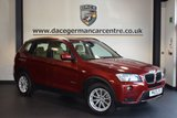 USED 2013 13 BMW X3 2.0 XDRIVE20D SE 5DR AUTO 181 BHP + FULL BEIGE LEATHER INTERIOR + FULL SERVICE HISTORY + BLUETOOTH + HEATED SPORT SEATS + PARKING ASSIST + DAB RADIO + 18 INCH ALLOY WHEELS +