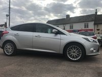 2012 FORD FOCUS 1.0 ZETEC 5d ECOBOOST WITH APPERANCE PACK AND LOW MILEAGE £6000.00