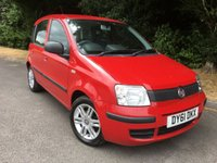 USED 2011 61 FIAT PANDA 1.2 MYLIFE 5d 69 BHP * Insurance Group 2. £30 Road Tax*
