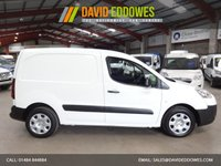 """USED 2015 15 PEUGEOT PARTNER 1.6 HDI S L1 850  VAN 90 BHP-ONE OWNER-SERVICE HISTORY """"YOU'RE IN SAFE HANDS"""" - AA DEALER PROMISE"""
