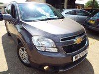 2013 CHEVROLET ORLANDO 1.8 LT 5d AUTO 139 BHP £5995.00