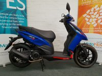 USED 2018 APRILIA SR SR125 BRAND NEW WITH ZERO MILES