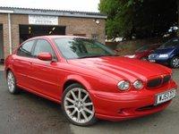 2003 JAGUAR X-TYPE 2.5 V6 SPORT 4d 195 BHP £1795.00