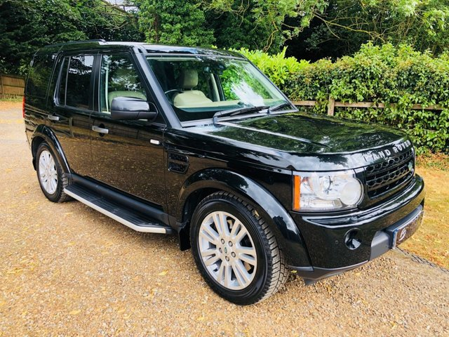2011 61 LAND ROVER DISCOVERY 3.0 4 SDV6 HSE 5d AUTO 245 BHP