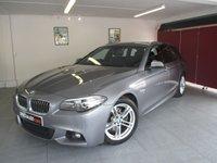 2014 BMW 5 SERIES 2.0 520D M SPORT TOURING 5d AUTO 188 BHP £14995.00