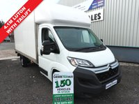 2014 CITROEN RELAY 2.2 35 L3 HDI  130 BHP 4.1M  LUTON WITH TAIL LIFT £8795.00
