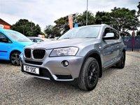 2013 BMW X3 2.0 XDRIVE 20D SE 5d 181 BHP £SOLD