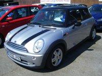 2005 MINI HATCH COOPER 1.6 COOPER 3d 114 BHP £2995.00