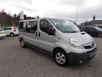 2014 VAUXHALL VIVARO 2.0CDTi 2900 LWB Combi Van £12495.00