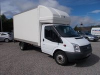 USED 2012 12 FORD TRANSIT 2.2 TDCi 350 LWB Extended Frame (DRW) Chassis Cab RWD 2dr 1 PREVIOUS OWNER
