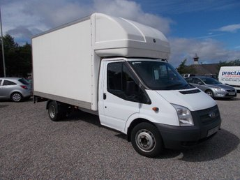 2012 FORD TRANSIT 2.2 TDCi 350 LWB Extended Frame (DRW) Chassis Cab RWD 2dr £7995.00