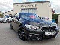 2014 BMW 4 SERIES 2.0 420D M SPORT 2d AUTO 181 BHP £14995.00