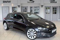 USED 2011 60 VOLKSWAGEN SCIROCCO 2.0 GT DSG 3d AUTO 211 BHP SERVICE HISTORY + 18 INCH ALLOYS + TOUCH SCREEN MONITOR + AIR CONDITIONING + AUTOMATIC LIGHTS + AUX PORT