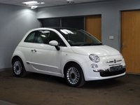 USED 2013 63 FIAT 500 1.2 LOUNGE 3d 69 BHP PANORAMIC ROOF