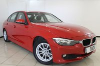 USED 2015 15 BMW 3 SERIES 2.0 320D EFFICIENTDYNAMICS BUSINESS 4DR AUTOMATIC 161 BHP SAT NAV SERVICE HISTORY + HEATED LEATHER SEATS + SAT NAVIGATION + PARKING SENSOR + BLUETOOTH + CRUISE CONTROL + MULTI FUNCTION WHEEL + 16 INCH ALLOY WHEELS