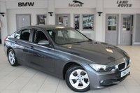 USED 2014 63 BMW 3 SERIES 2.0 320D EFFICIENTDYNAMICS 4d AUTO 161 BHP FULL BMW SERVICE HISTORY + £20 ROAD TAX + BLUETOOTH + DAB RADIO + CRUISE CONTROL + REAR PARKING SENSORS + 16 INCH ALLOYS