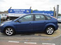 USED 2008 08 FORD FOCUS 1.6 ZETEC 5d 100 BHP 10 Stamps Of Service History .New MOT & Full Service Done on purchase + 2 Years FREE Mot & Service Included After . 3 Months Russell Ham Quality Warranty . All Car's Are HPI Clear . Finance Arranged - Credit Card's Accepted . for more cars www.russellham.co.uk  -Spare Key & Owners Book Pack