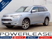 USED 2015 64 MITSUBISHI OUTLANDER 2.0 PHEV GX 3H 5d AUTO 162 BHP 1 OWNER FSH BLUETOOTH LEATHER